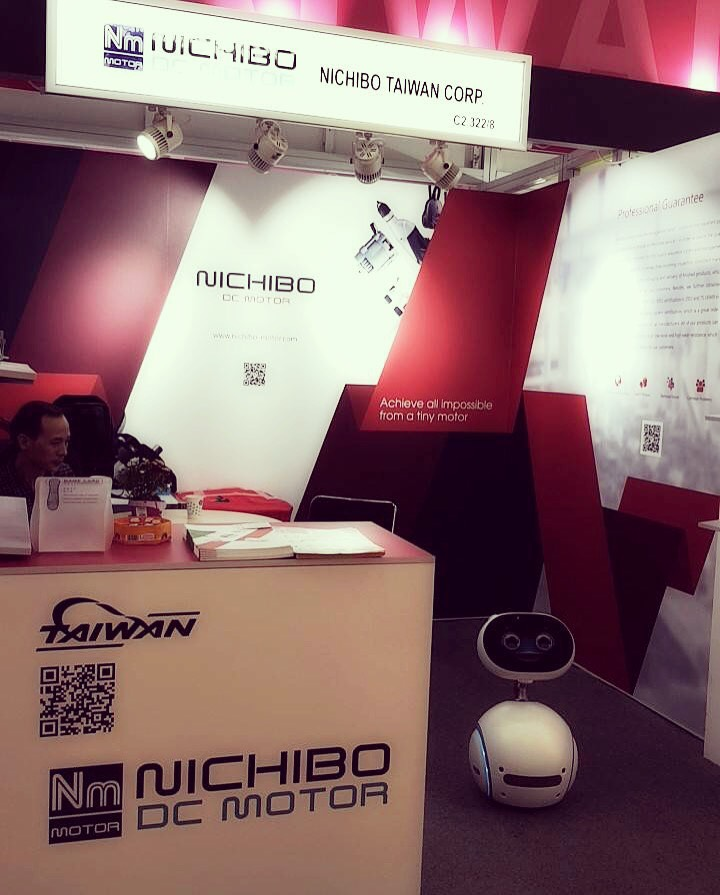 NICHIBO DC MOTOR Joined Electronica 2018